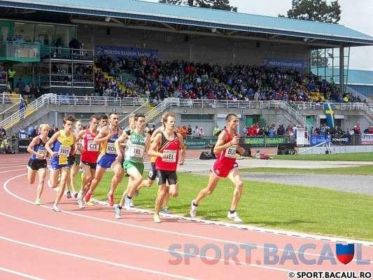 Cursa de 800 m - CE pe echipe Dublin
