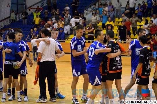Finalul meciului CSM Bacau - Minaur Baia Mare (4)