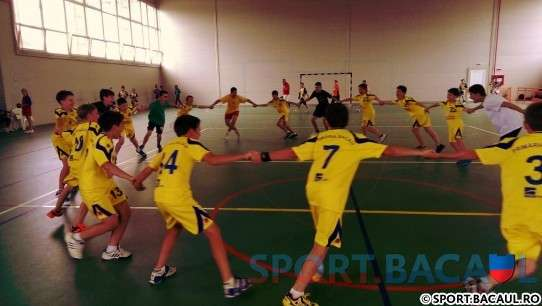 Top Handbal Bacau la Cupa Onesti 2013