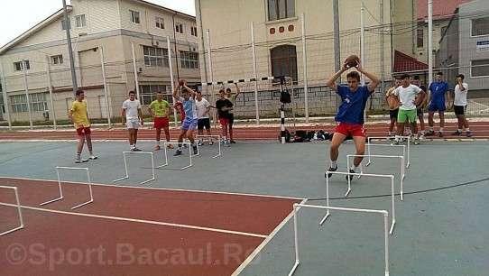 Antrenament CSM Bacau juniori 3
