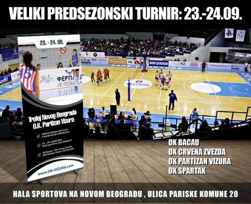 Afis turneu volei Belgrad