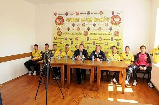Conferinta de presa Sport Club Bacau