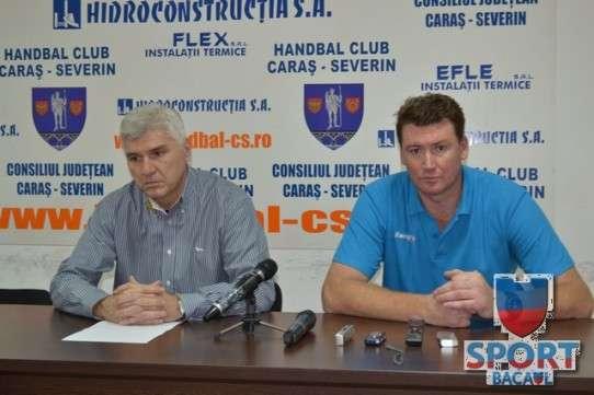 Conferinta de presa CS Caras-Severin - Stiinta Bacau 1