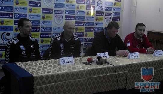 Conferinta de presa Stiinta Bacau - IFK Kristianstad 1