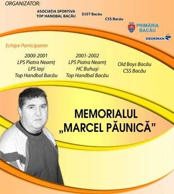 Afis Memorial Marcel Paunica