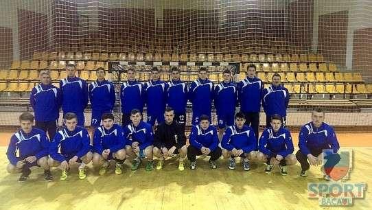 CSM Bacau handbal juniori II, aprilie 2014