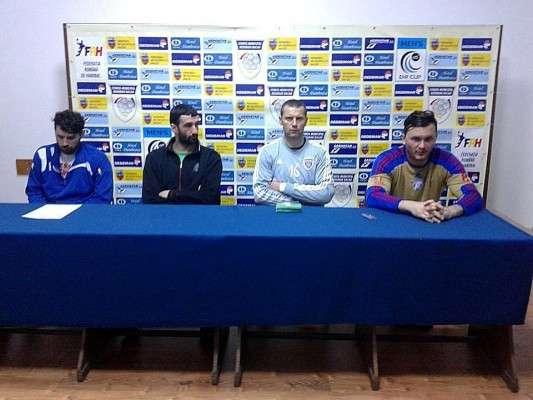 Conferinta de presa Stiinta bacau - Steaua