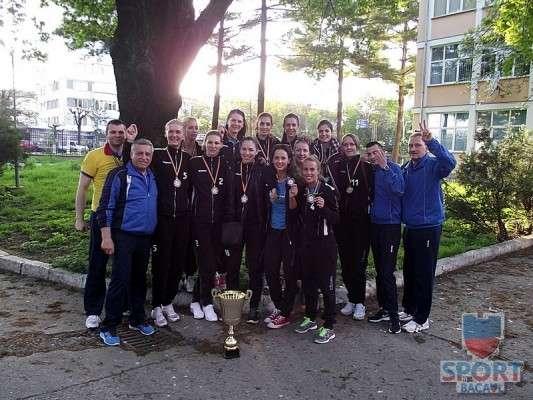 Stiinta Bacau, campioana Romaniei 2014