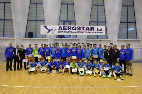 Finaliste turneu final handbal juniori II, Bacau 2014