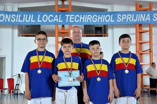 Judo, finala U 12 Techirghiol