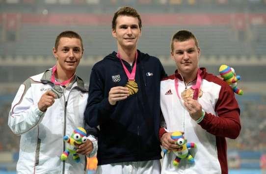 Alexandru Novac pe podiumul olimpic