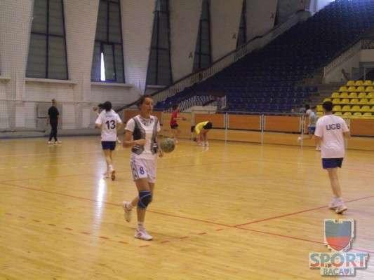 Antrenament Stiinta Bacau handbal feminin 4