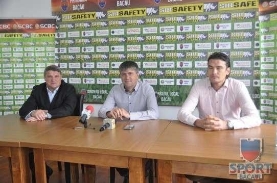 Conferinta de presa Sport Club Bacau  1