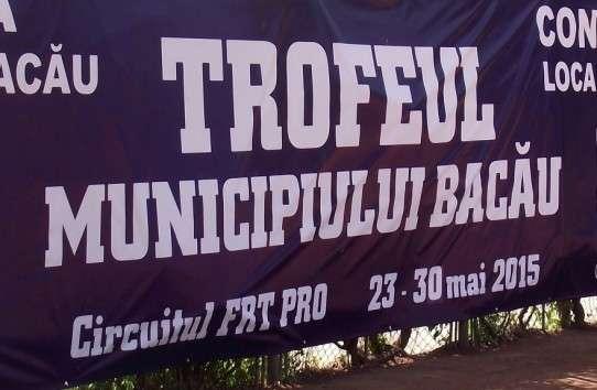 Banner Trofeul Municipiului Bacau 2015