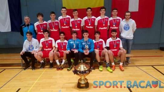 CSSM Bacau juniori II la Youth Cup - Luxemburg 2