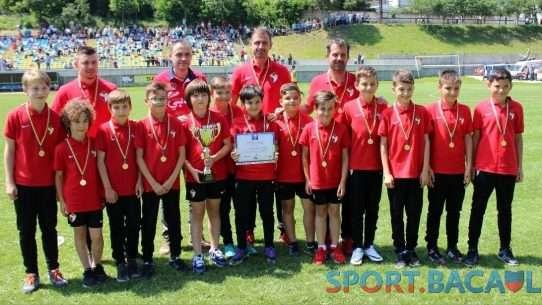 Sport Club Bacau juniori E - campioana judeteana 12