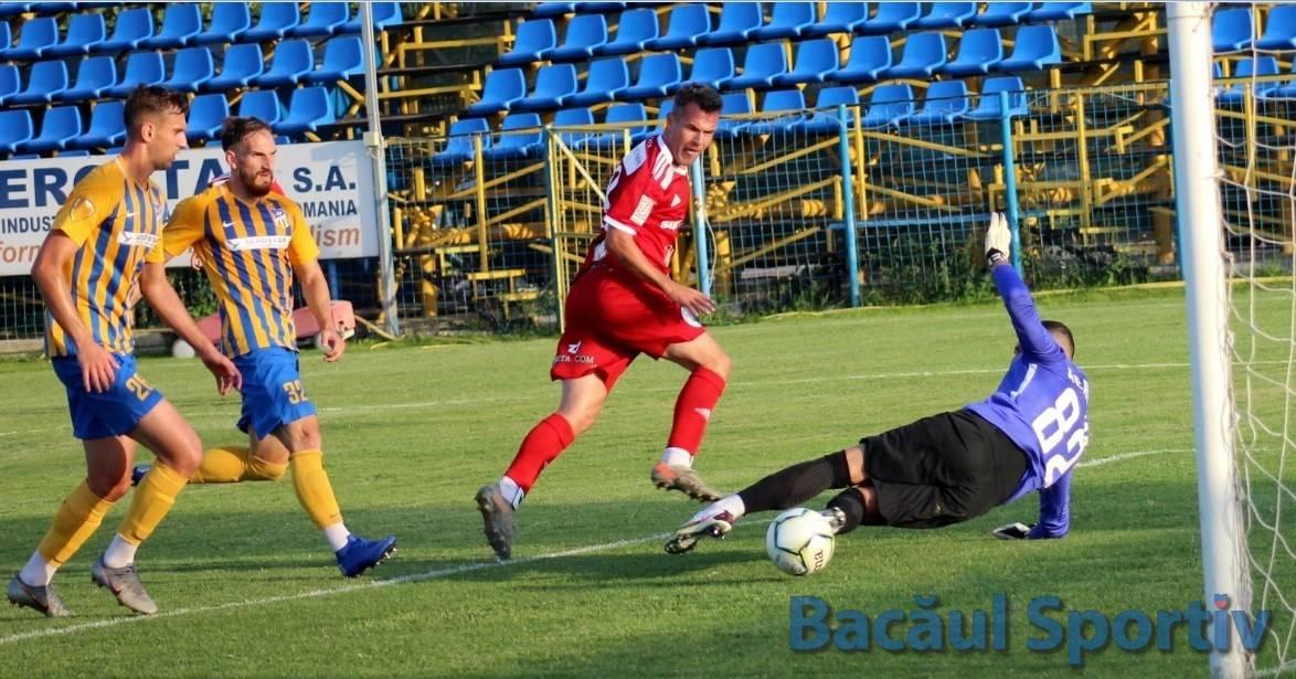 Meritau mai mult / Aerostar Bacău – Universitatea Cluj 0-1 (0-0)