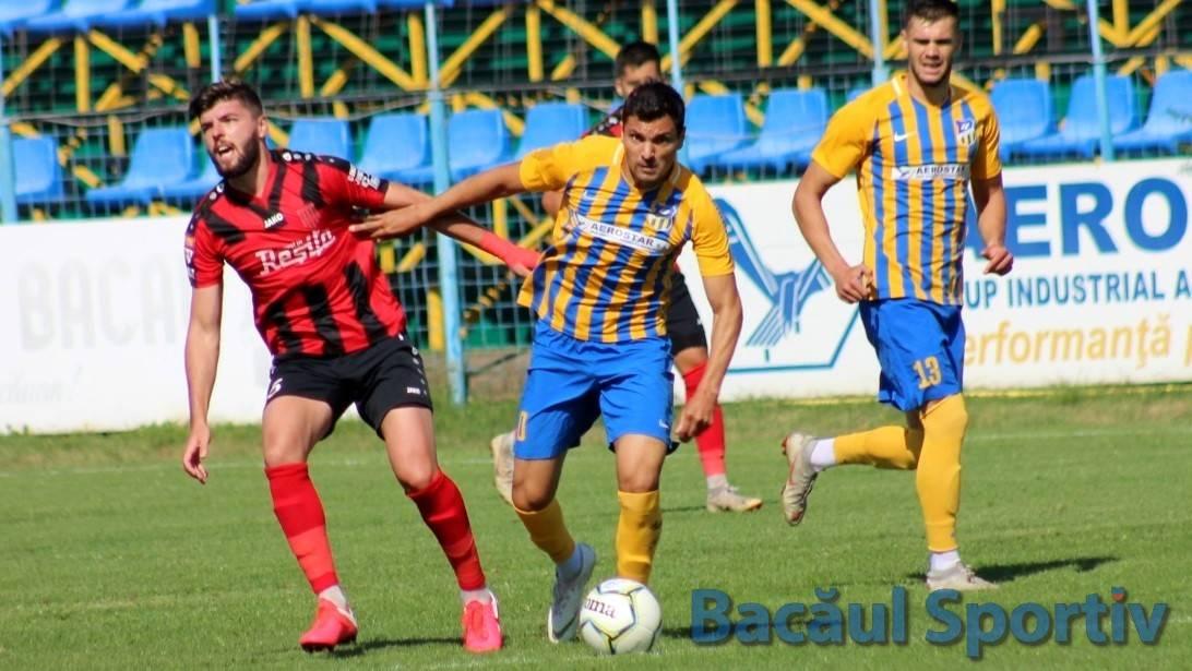 Primele goluri și prima victorie pentru Aerostar în Liga a II-a