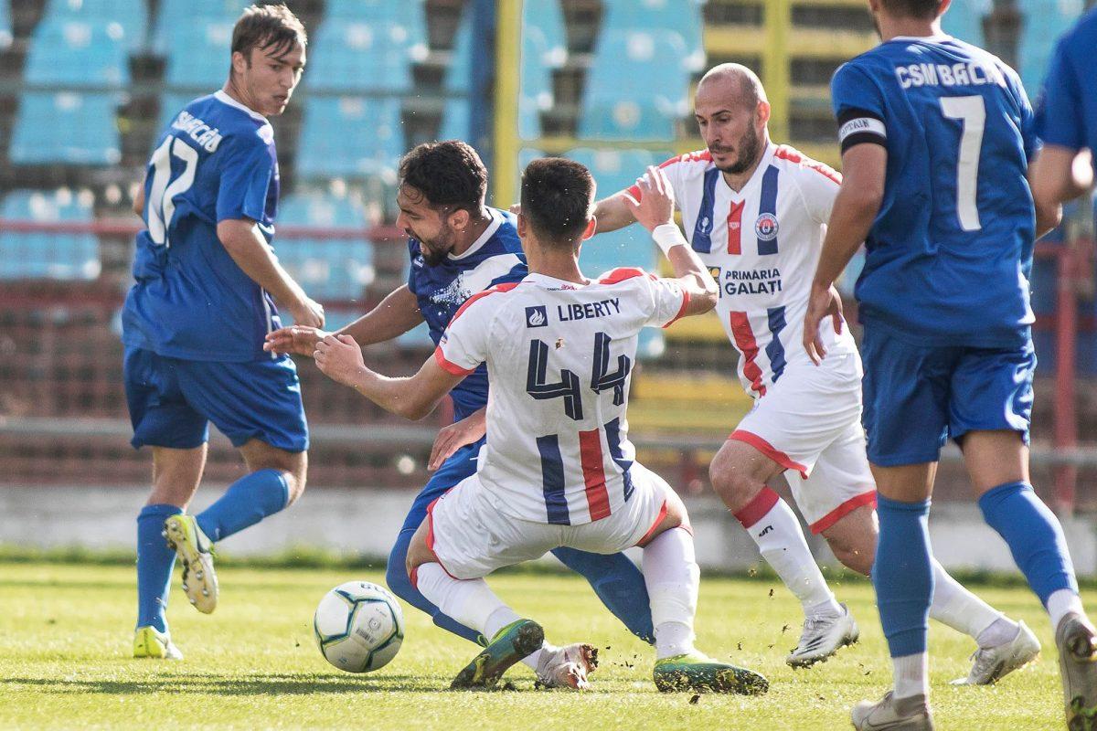 Fotbal, Liga a III-a / CSM Bacău a pierdut pe terenul Oțelului Galați