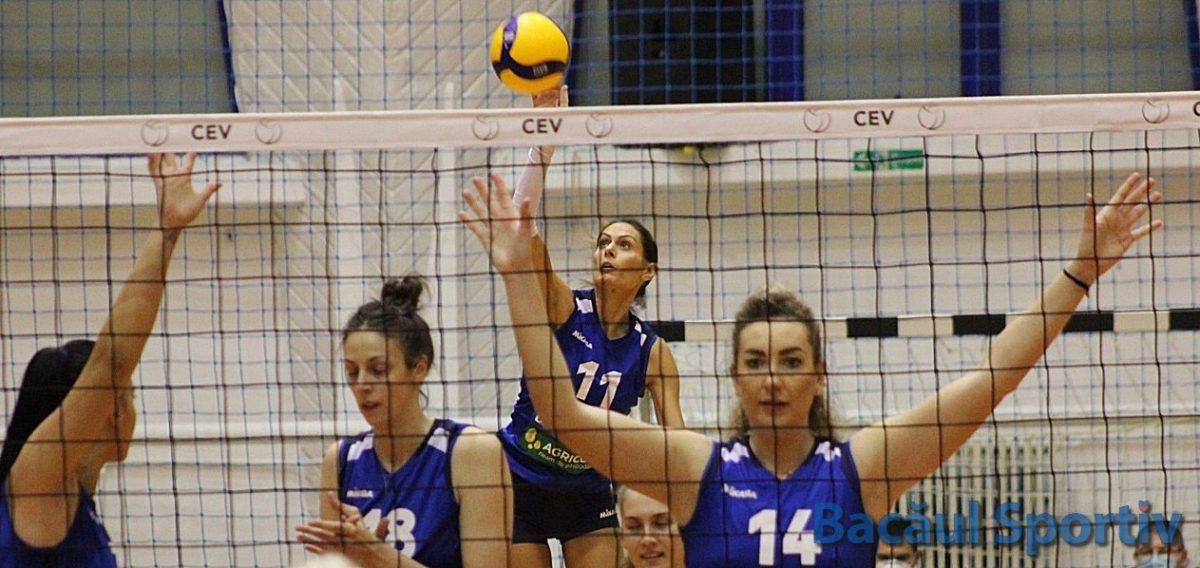 Volei feminin / Știința Bacău a încheiat turul sezonului regulat pe locul 5