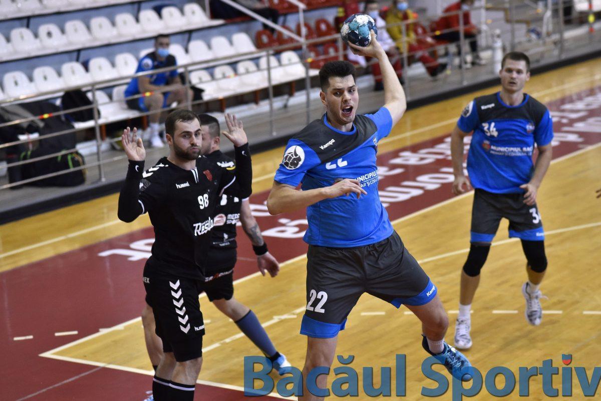 Handbal, Liga Zimbrilor / A treia victorie consecutivă pentru CSM Bacău